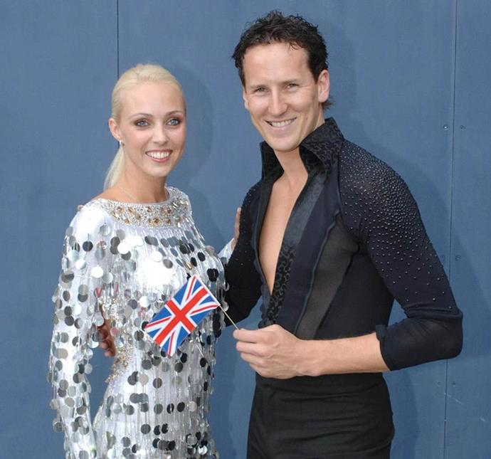 Brendan and Camilla represented the UK in the 2007 Eurovision Dance Contest. *Photo: Getty*