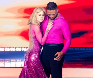 Dancing with the stars Manu Vatuvei and dance partner Loryn