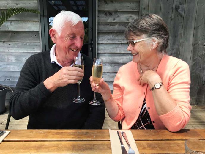 Michael and Caroline Hockey celebrated their 50th wedding anniversary this year. *Image: Jessie Casson*