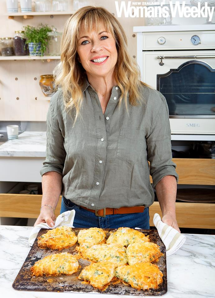 These delicious Wanaka cheese scones are one of 10,000 recipes Annabel has developed during her career.