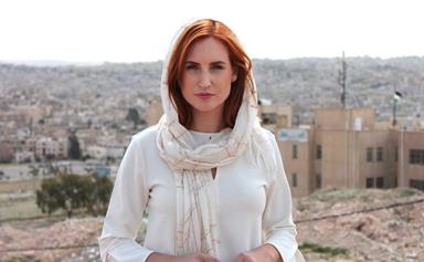 Samantha Hayes shares her heartache after visiting a refugee camp in Jordan
