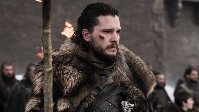 The emotional final season of Game of Thrones took its toll on Kit.