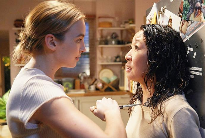 In *Killing Eve* Comer plays Villanelle, a brutal assassin caught in a game of cat-and-mouse with MI6 agent Eve (played by Sandra Oh).
