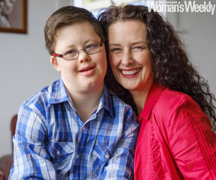 Kidney Kid Bradley Whipp and donor aunt Christine
