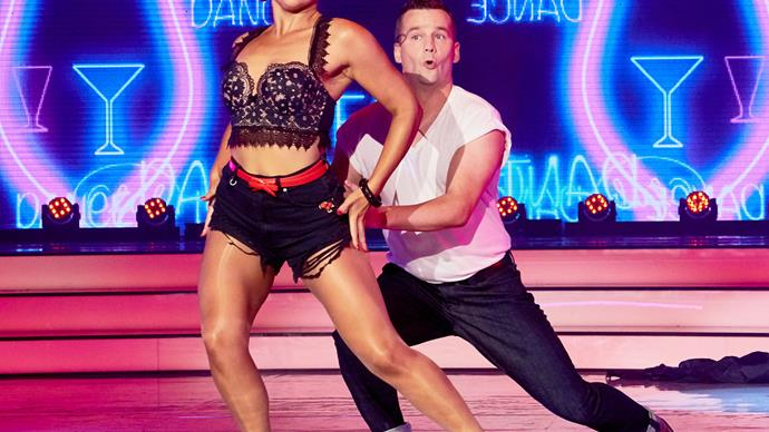David Seymour and Amelia McGregor on Dancing With The Stars NZ