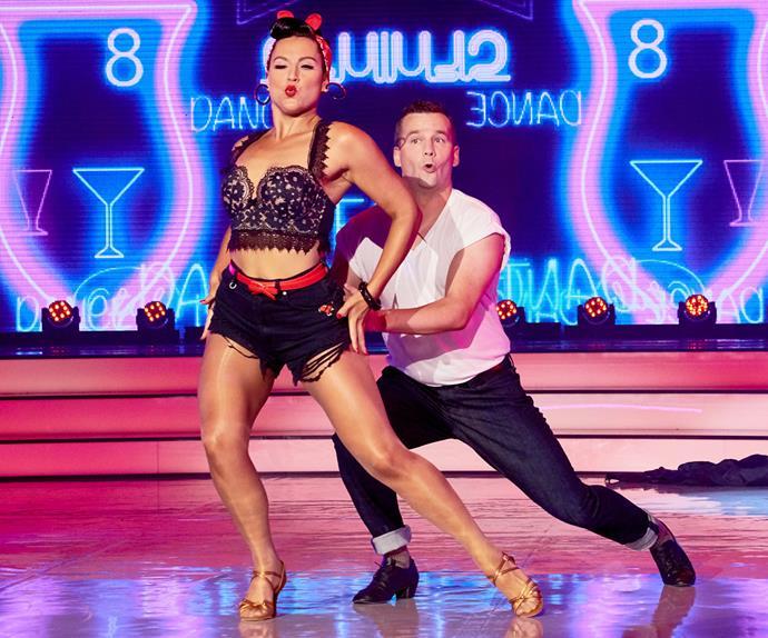 David Seymour and Amelia McGregor on Dancing With The Stars NZ