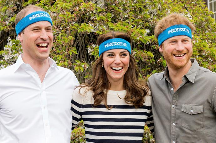 William, Kate and Harry are all passionate about removing the stigma around mental health.