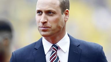 Prince William gets candid about loss and why men need to know it's okay to cry