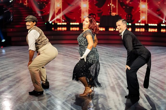 The twerk made a return in Amelia and William's trio dance with David Seymour.