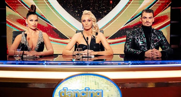 Camilla is happy being strictly a dance judge now alongside Rachel White and Julz Tocker