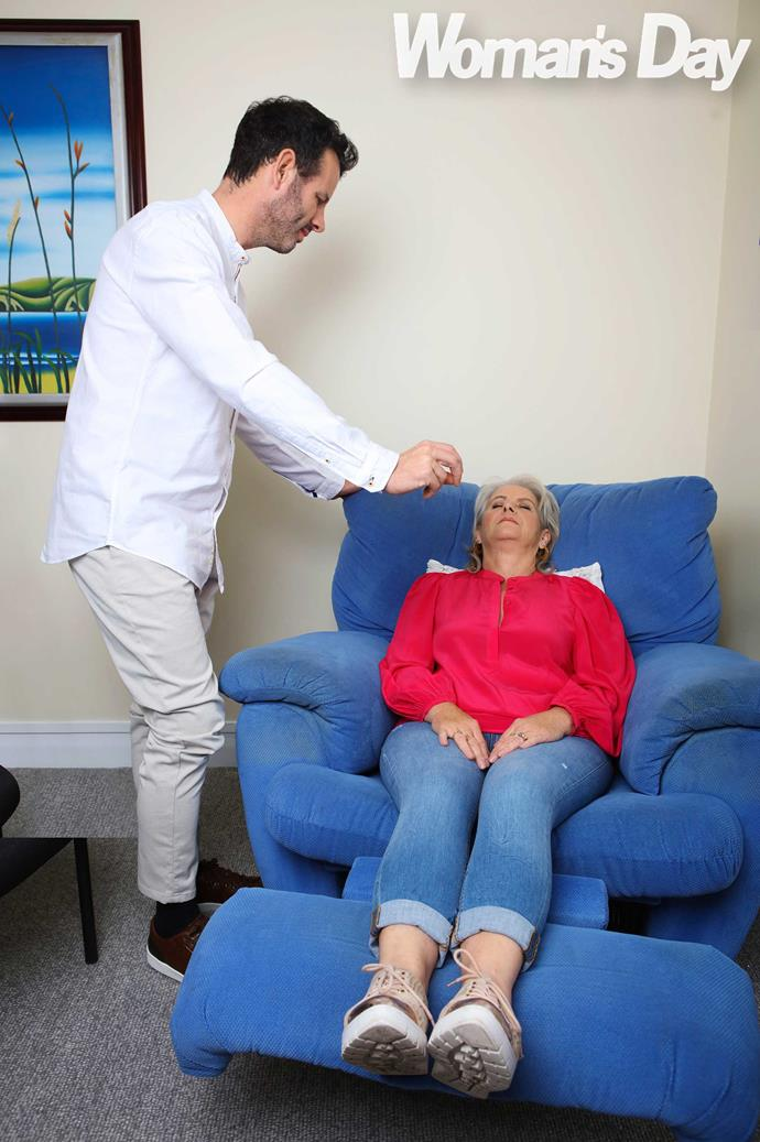 Some people need four hypnotherapy sessions but Cathy only needed one.
