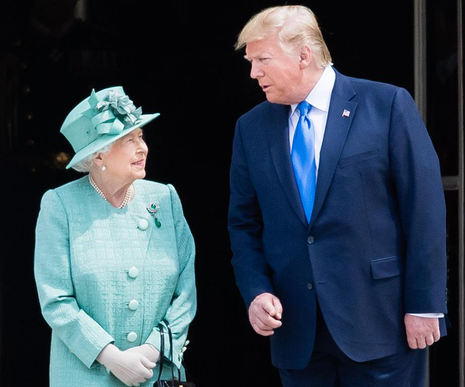 Donald Trump brags about the fantastic effect he had on Queen Elizabeth