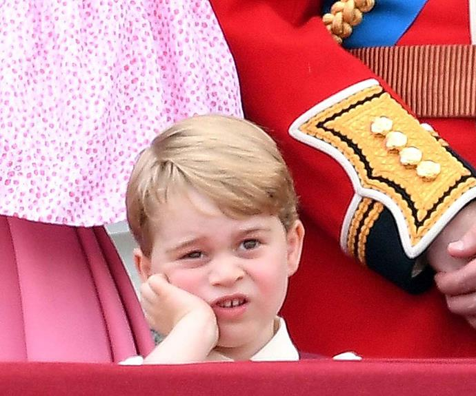 The priceless images of Prince George and Prince Charles that show the royal family gets bored too!
