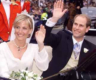 Prince Edward and Sophie Wessex wedding day
