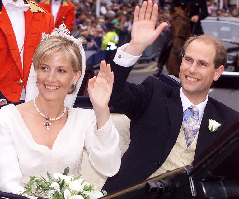 Prince Edward Wedding.Prince Edward And Sophie Countess Of Wessex Celebrate 20th