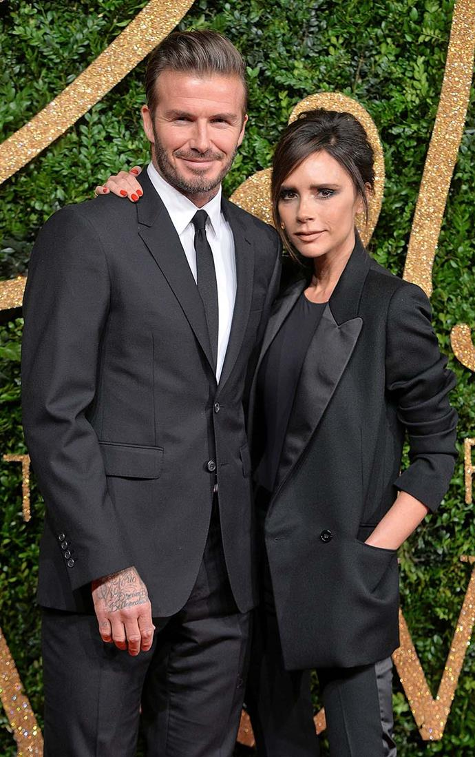 David and Victoria Beckham reportedly enjoy having their own space too, in separate wings.