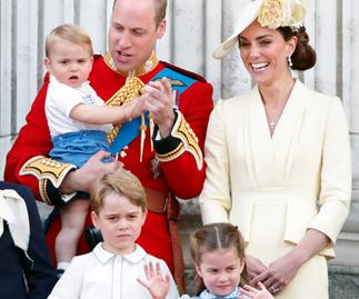 the cambridges trooping the colour 2019