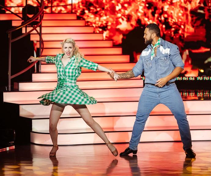 Manu has shown his softer side on DWTS.