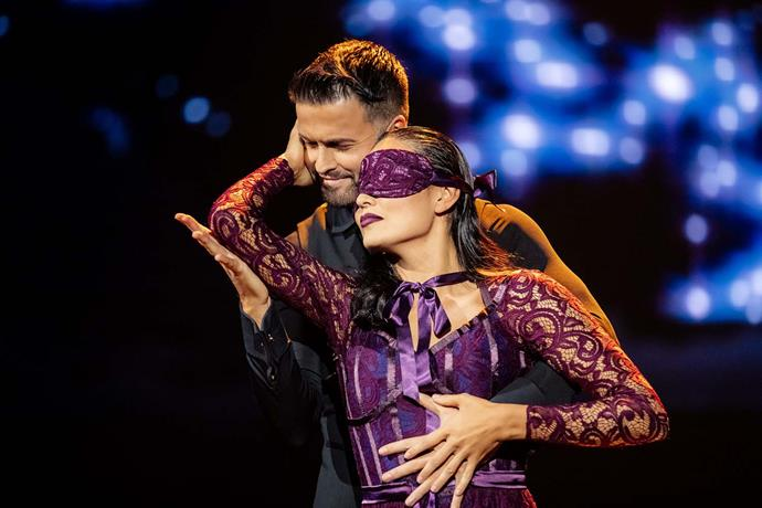 The blindfold was genius but not enough to save Nadia Lim from elimination.