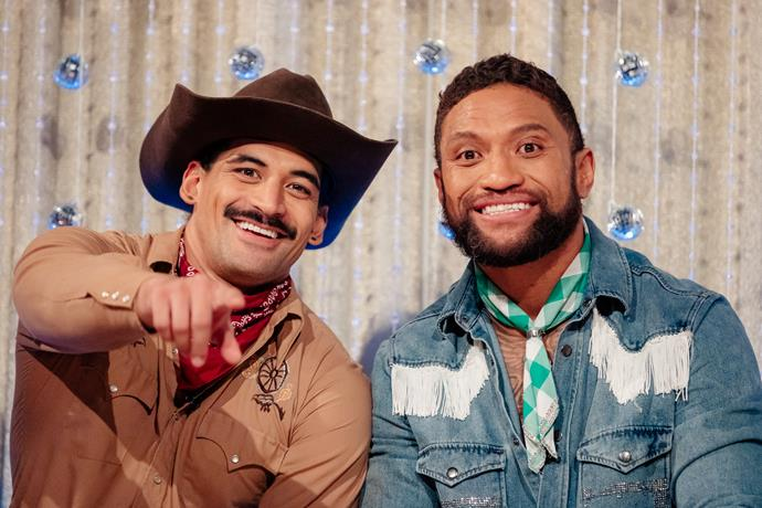 William Waiirua and Manu Vatuvei are like brothers on DWTS.