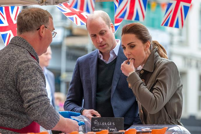 The couple spent the day in Cumbria, meeting local heroes and volunteers in Keswick and farmers. *(Image: Getty)*