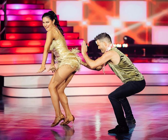 Nadia and Aaron's Sunday night jive didn't deliver, the judges said.
