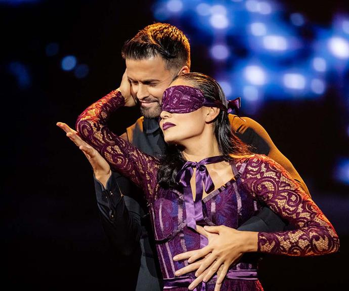 Aaron Gilmore and Nadia Lim, Dancing With The Stars
