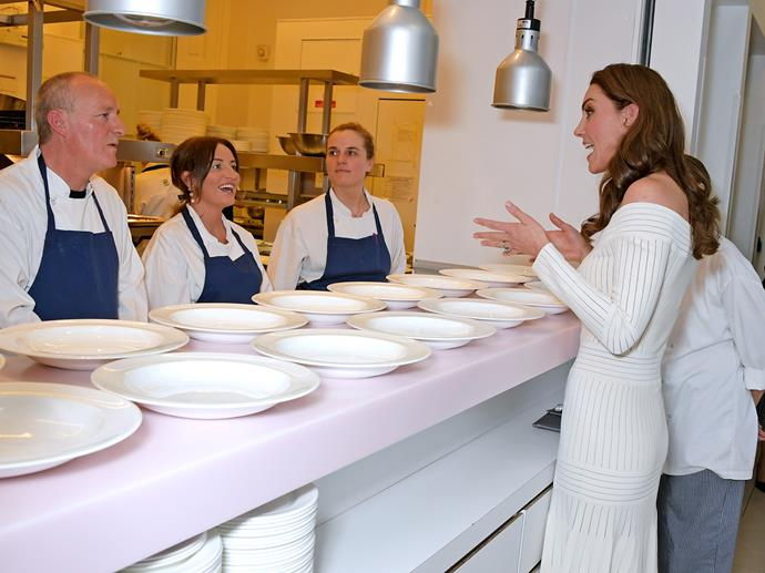 Kate chats to Jay and Melanie about how Action on Addiction's recovery programme had helped them. *(Image: Getty)*