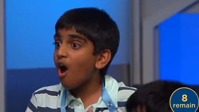 What happened at an American spelling bee that blew everyone's minds