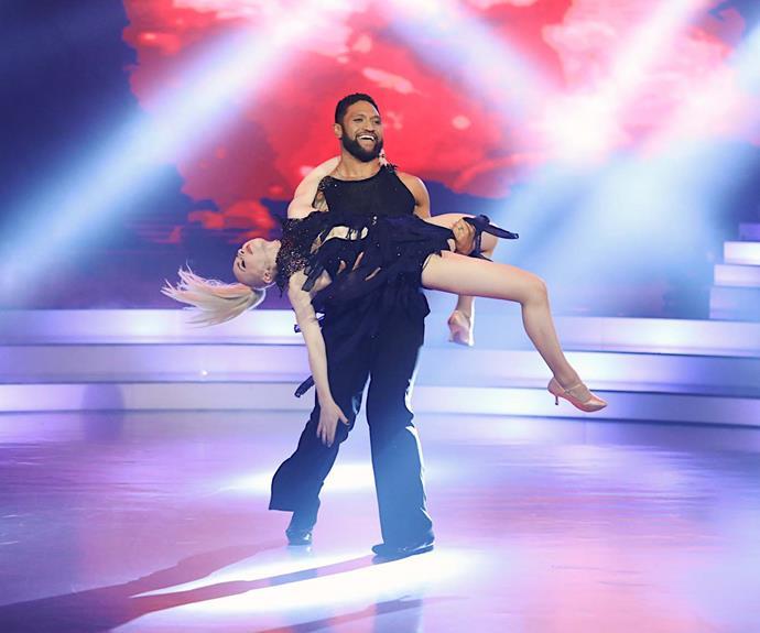 Manu and Loryn's winning dance, which Manu choreographed himself.