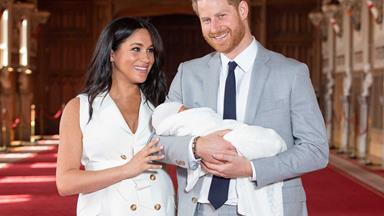 Prince Harry shares an adorable new photo of Baby Archie in celebration of Father's Day