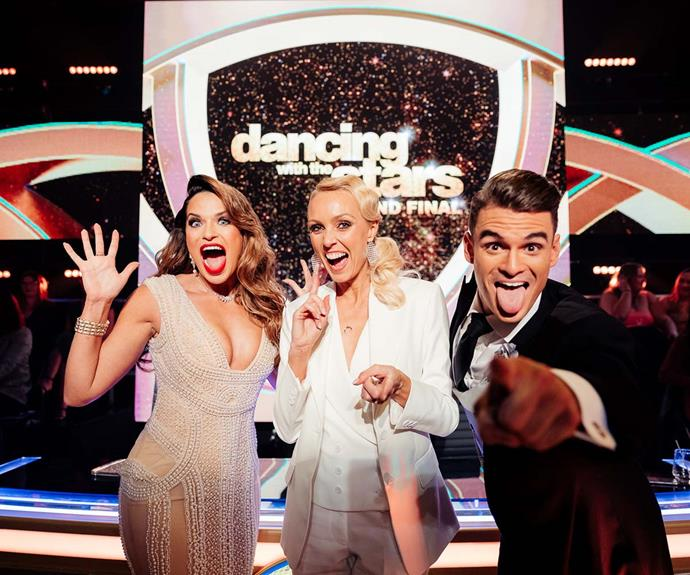 DWTS judges Rachel White, Camilla Sacre-Dallerup and Julz Tocker