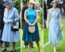 Royal ladies in blue! See all the gorgeous outfits from the first day of Royal Ascot 2019