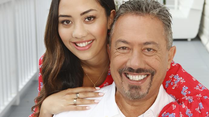 Mike King and daughter Alex King Flava