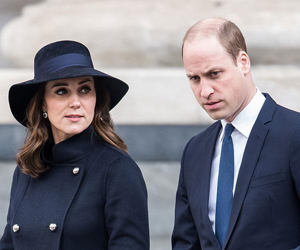 A woman is in hospital after an accident involving Prince William and Duchess Catherine's royal convoy
