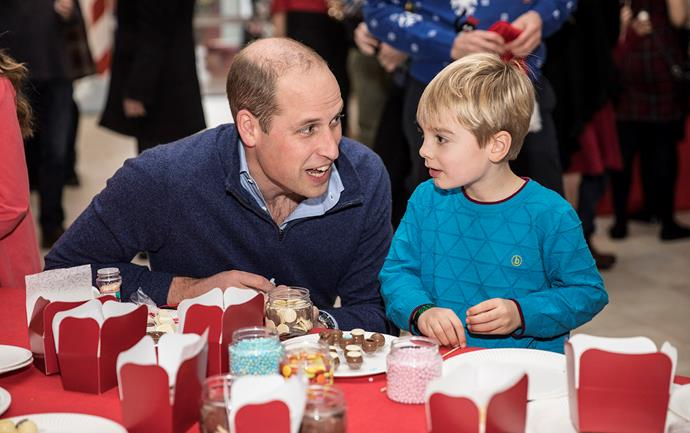 "*[Prince William and Kate host a Christmas Party](https://www.nowtolove.co.nz/celebrity/royals/duchess-catherine-festive-prince-william-christmas-bash-39962|target=""_blank"") for families of military personnel in 2018.* <br><br> **That time when Prince William revealed he was a fan of *TMNT*:** <br><br> When visiting an children's art class in LA, Prince William asked the kids: ""Have you guys seen *Teenage Mutant Ninja Turtles*? No? It's a cartoon much cooler than it sounds!""  <br><br> *(Image: Getty)*"