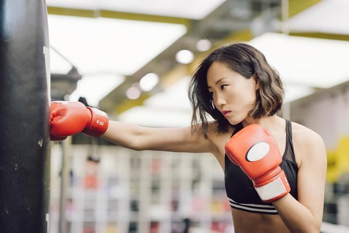 According to FitHouse trainer, Nina Marchione, it takes about three weeks of skipping the gym to start losing muscle. *(Image: Getty)*