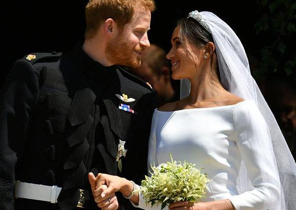 meghan markle prince harry wedding day
