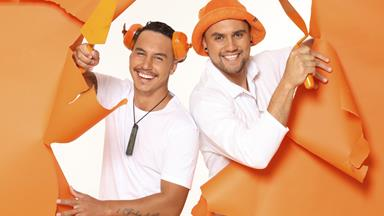 The Block NZ Firehouse contestants Ethan and Sam: 'Why the show will cement our friendship'