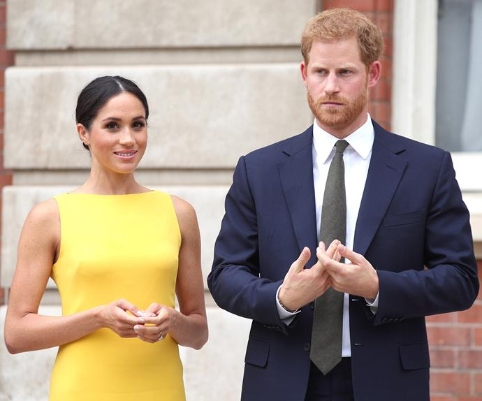 meghan markle prince harry serious