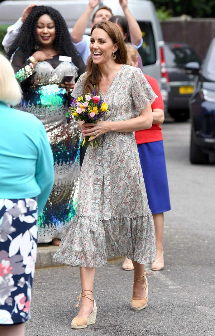 The Queen passed on the royal patronage of the Royal Photographic Society to Kate, a role the Queen held for 67 years. *(Image: Getty)*