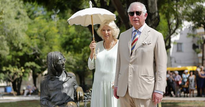 The Prince of Wales and Duchess Camilla in Cuba in March. *(Image: Getty)*