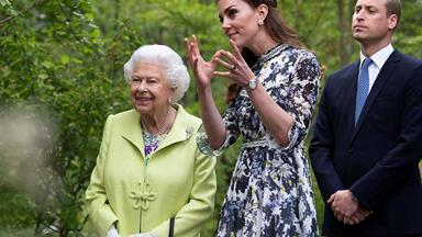 The Queen just passed on this very special patronage to Duchess Catherine