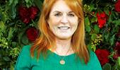 Sarah, Duchess of York, is recognised with an award for her charity work