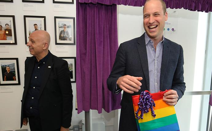 prince william laughing