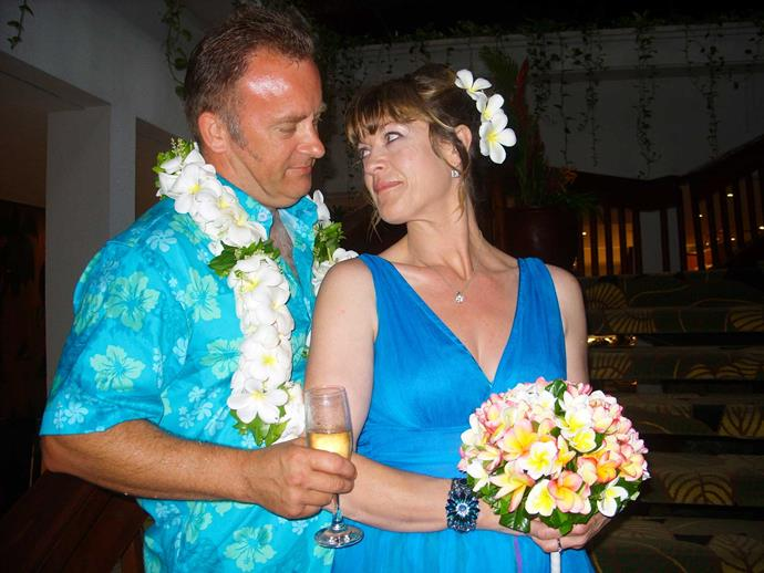 The couple married in Fiji in 2010.