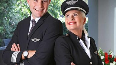 History makers: Air New Zealand's first mother and son pilots