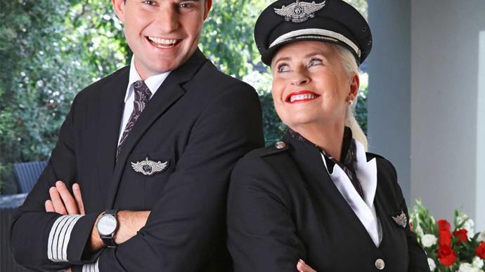 Air New Zealand mother son pilot Ryan Bergman Ruth Schoushkoff