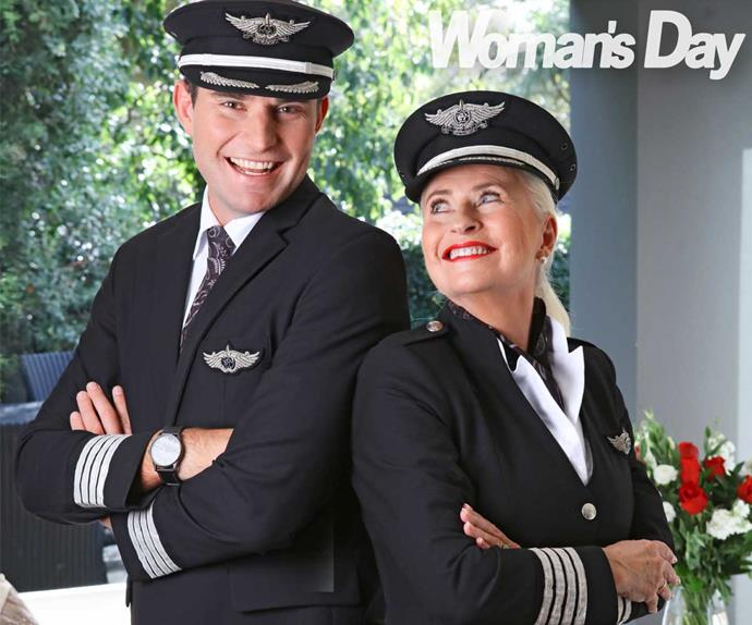 Air New Zealand mother son pilot Ryan Bergman Ruth Schoushkoff