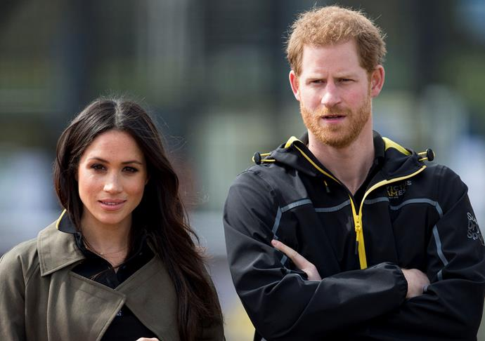 According to royal expert Ingrid Seward, it's Harry, not Meghan who is wanting to keep Archie's christening small and private. *(Image: Getty)*